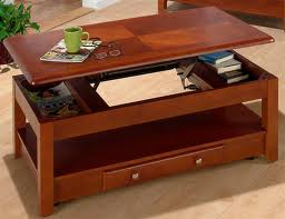 Organize Your Living Room Pop Up Coffee Tables